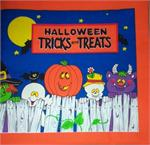 Halloween Cloth Book