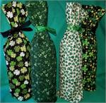 St Patrick's Day Wine Bottle Bags