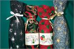 New Year's Wine Bottle Bags