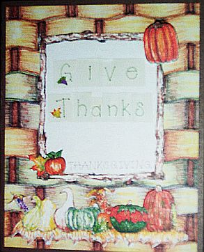 Thanksgiving Keepsake Greeting Cards