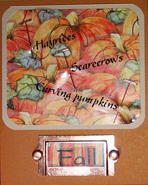Autumn Keepsake Greeting Cards