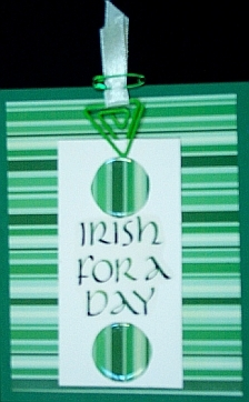 St Patrick's Day Keepsake Greeting Cards